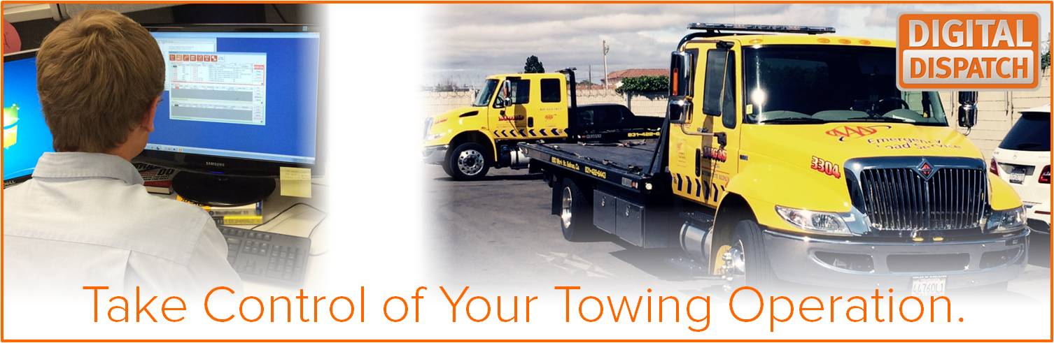 Digital Dispatch Towing Software