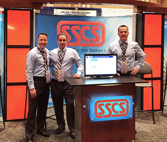 SSCS Employees at Booth