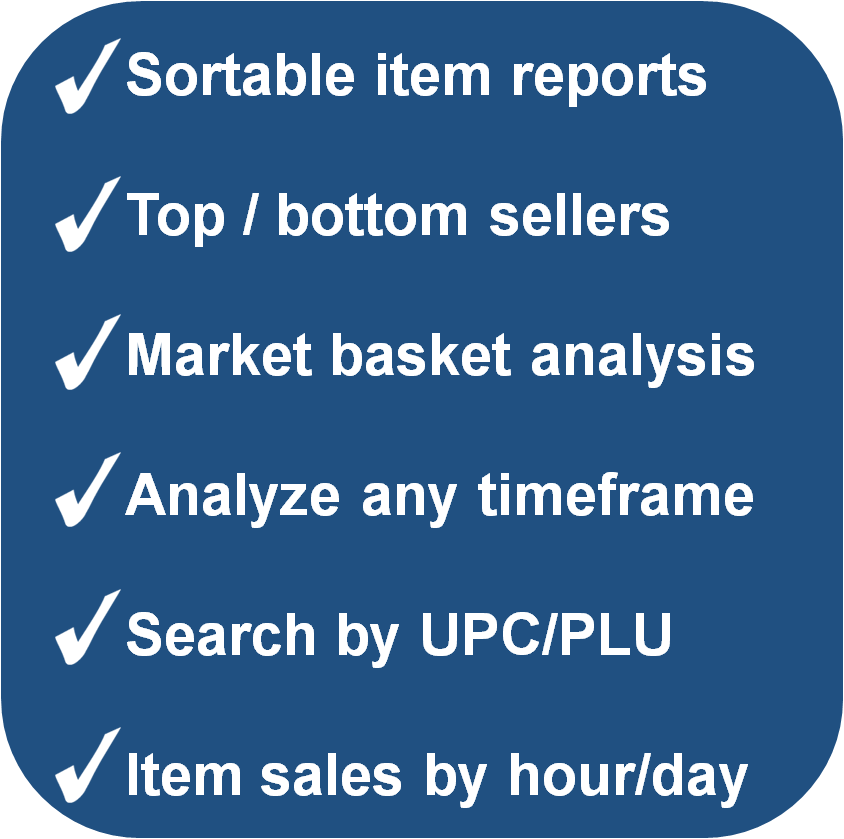 Advantages of Analyzing Item Sales
